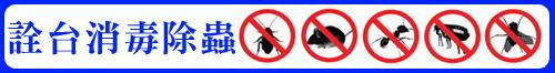 高雄專業除白蟻‧消毒除蟲‧詮台消毒除蟲公司